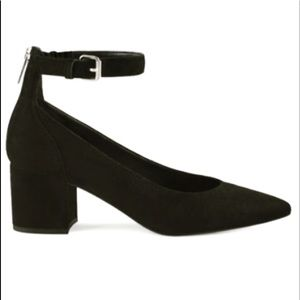 Leather Pumps With Ankle Straps